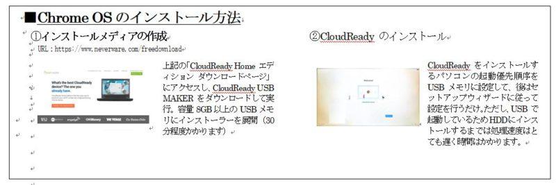 Chrome OS(Chromium OS)