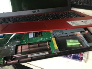 ASUS VivoBook X540LA SSD換装